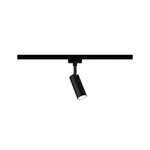Paulmann 969.17 URail LED-Spot Tubo 5W Schwarz Matt 3000K Metall/Kunststoff