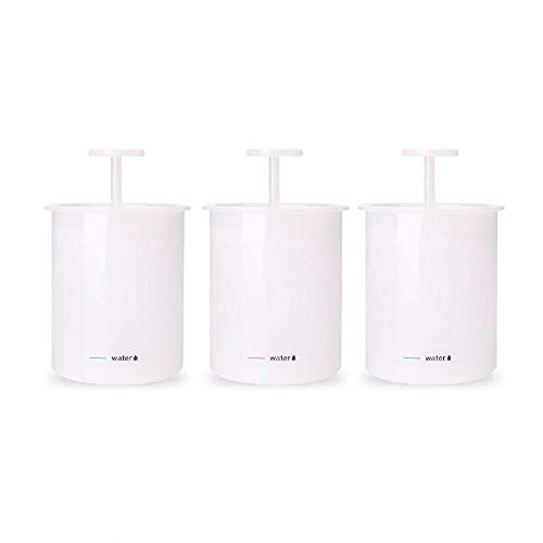 Crema limpiadora de plástico espesante Dispositivo de limpieza facial de espuma espumosa con vaso de burbujas manual