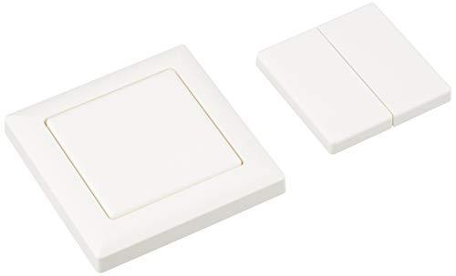 Eltako FT55-WS Funktaster weiß, Batterie- und leitungslos, mit Wippe und Do 0