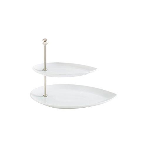 Kahla Etagere, Porzellan, Weiß