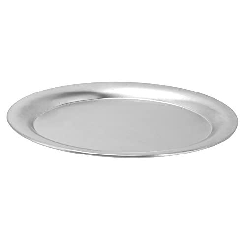小さな楕円形のサービングトレイ、ステンレス鋼のフードディッシュキッチンホームホテル用の多機能フルーツスナックディッシュ、軽量でポータブル