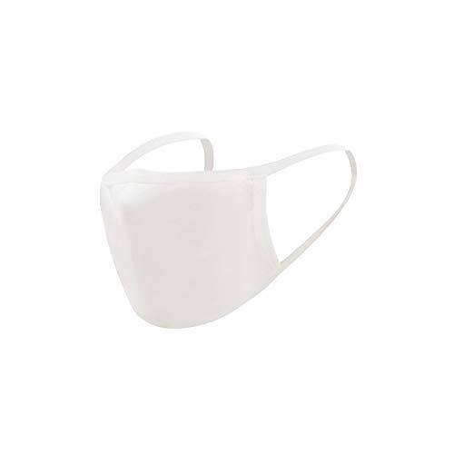 Bandana multifuncional para mujer y hombre, 5 unidades, reutilizable, transpirable, protección contra el polvo, elástico (blanco)