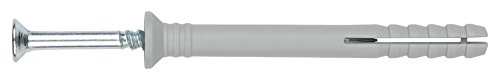 Index Fixing Systems VTCCA06070 Taco Clavable de Poliamida, 6 x 70 mm, Set de 200 Piezas
