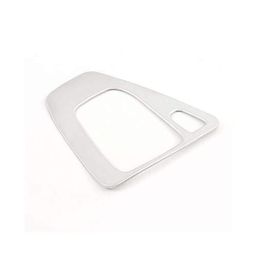 WENJING Coche 1pc cambio de engranaje de la caja del panel Ajuste de la cubierta del cromo de plata en forma for el BMW Serie 3 E90 E92 E93 2005-2012 Gear Box Auto Shift Panel de cubierta excelente ar