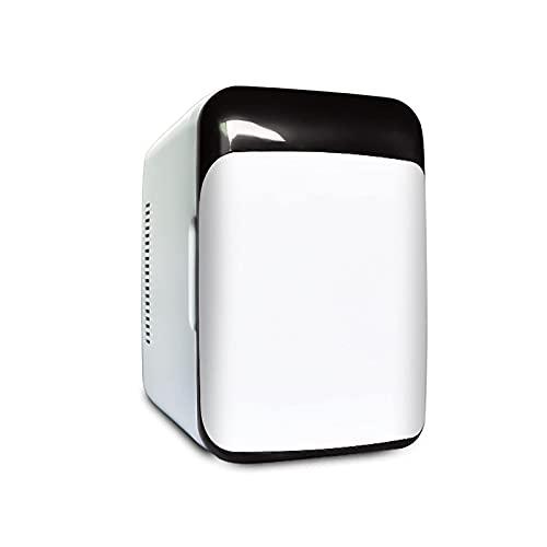 BIIII Mini nevera,8L compacto pequeño refrigerador de coche de una sola puerta,Calentador portátil del refrigerador del congelador Coolbox
