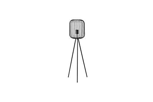 LIFA LIVING Moderne Staande Lamp, Zwarte Tripod Vloerlamp, Metalen Driepoot Vloerlamp, Decoratieve Lamp voor Woonkamer, Slaapkamer, Kantoor, 100 cm