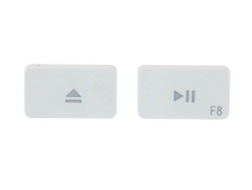 pendientes de teclado Miniblings pendientes teclado F8 blanco Juego de expulsión