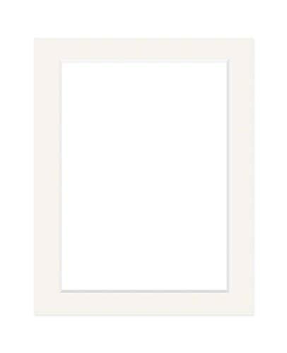 Deha Passepartout 40x50 cm für Bilder im Format 30x40 cm, Elfenbein