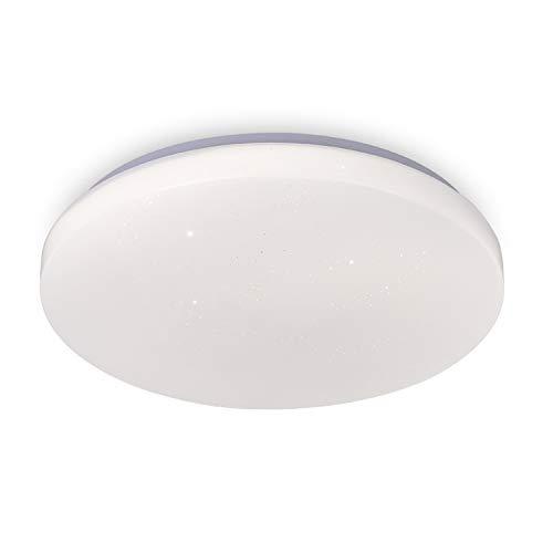 Lámpara de techo LED para salón, dormitorio, cielo estrellado, 12 W, 230 V, color blanco neutro