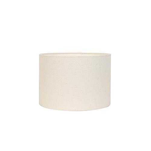 Light & Living Lampenschirm Zylinder Livigno - Eiweiß - Ø35 x 30 cm - Baumwolle/Leinen