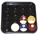 Fabero Bandeja Pool 16 Bolas 57mm