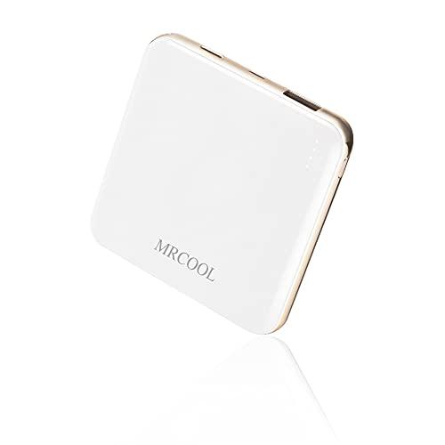 モバイルバッテリー 小型 軽量 薄型 PD18W対応 10000mah 2.4A出力 Type-C/Microポート 急速充電 PSE認証済 MRCOOL iPhone/Android各種対応 (ホワイト)