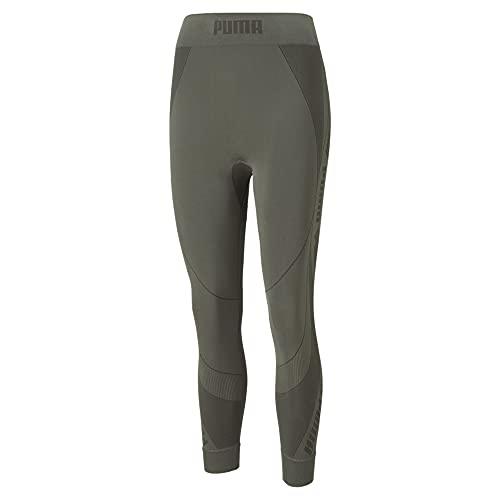 PUMA Evostripe Evoknit 7/8 Tights Leggings, Hoja de UVA, M para Mujer