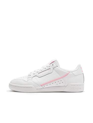 Adidas Continental 80 W, Zapatillas de Deporte para Mujer, Multicolor (Ftwbla/Rosaut/Ros Cl A 000) 37 1/3 EU