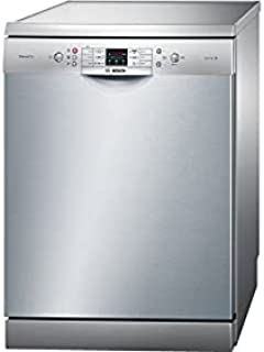 Bosch Sms68L28Tr Free Standing Dishwasher 13 Person - Silver