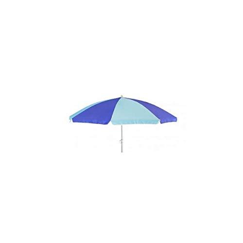 AXI Sonnenschirm für Kinder, blau, Kindersonnenschirm, Sonnenschirm für Kindertisch, Sand- und Wasserspieltisch und Sandkasten, Durchmesser 165 cm