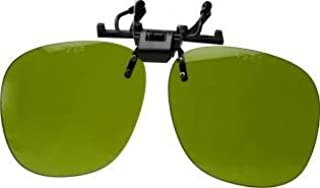 عینک پلاستیکی سبک وزن مخصوص پلاستیک - سایه شماره 3 لنزهای جوشکار سبز
