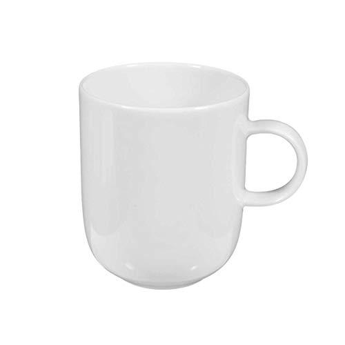 Seltmann Weiden 001.039966 Sketch - Becher mit Henkel/Henkelbecher/Kaffeebecher - 0,27 l - Porzellan - weiß