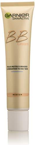 Garnier Skin Active BB Crème Peaux Mixtes à Grasses Medium Soin Miracle Perfecteur 5-en-1
