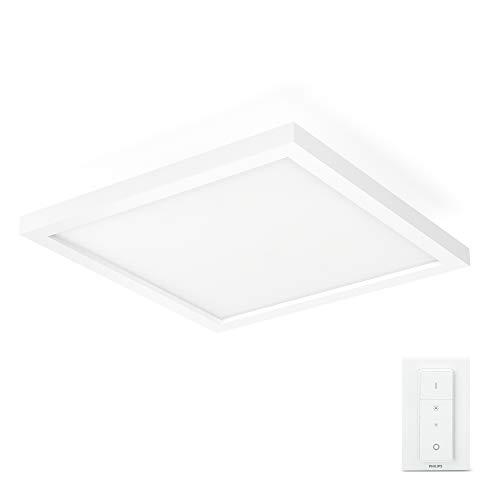 Philips Hue White Ambiance AURELLE Panneau LED 30X30 cm 28 W- Blanc...