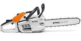 Stihl - Motosierra MS 201 C-M, 35,2 CC, 1,8 kW / 2,4 CV, 3,9 kg, Barra de 40 cm, Ligera y Profesional