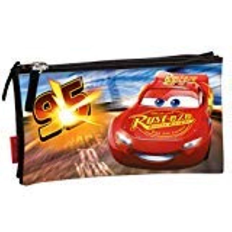Disney Cars - 'Legend' Triple Pouch Pencil Cases, 23 cm, Multicolour
