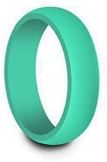 Comfort Band Silicone Wedding Ring | Men's and Women's | Many Sizes and Colors