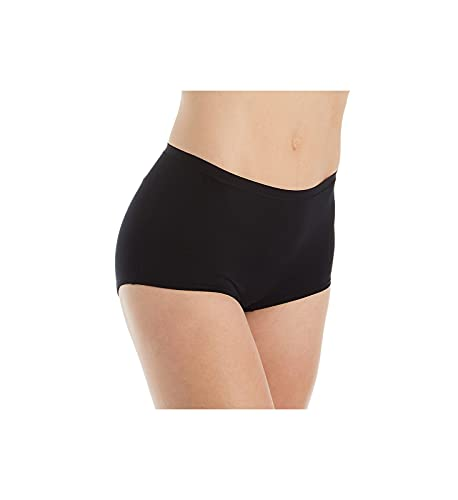 CALIDA Damen Comfort Panty Regular Cut Panties, Schwarz, 40