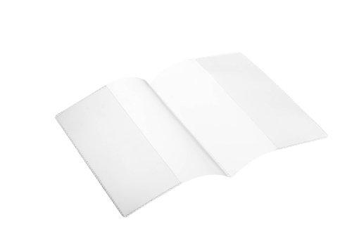 Durable 214019 Schutz- und Ausweis-/Doppelhülle (für Dokumente DIN A6, 210 x 148 mm) 10 Stück transparent