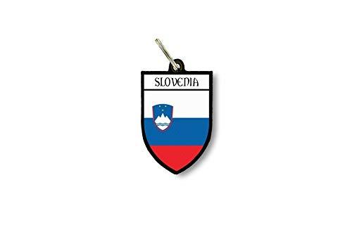 Sleutelhanger voor dames, auto, motorfiets, vlag citaat, Slovenië, wapen