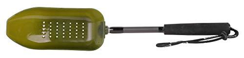 Strategy Bait Spoon 9,5x21cm Wide Filter - Futterkelle zum Anfüttern, Futterschaufel für Partikel, Boiliekelle zum Karpfenangeln, Wurfkelle zum Füttern