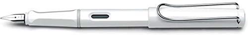 Lamy safari Füllhalter 019 – Moderner Füller in der Farbe Weiß mit ergonomischem Griff und zeitlosem Design – Federstärke EF