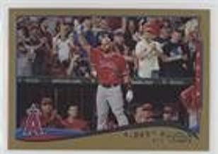 Albert Pujols; Checklist #413/2,014 (Baseball Card) 2014 Topps Update Series - [Base] - Gold #US-1