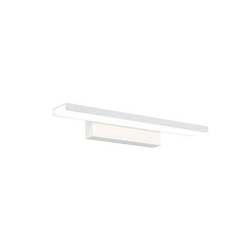 Weiße LED Spiegelleuchte Make-up Licht Spiegellampe Schminklicht Schminkleuchte Schrank-Beleuchtung neutral-weiß 40 cm inkl. 1 x 16W 4400K 1200 Lm IP20