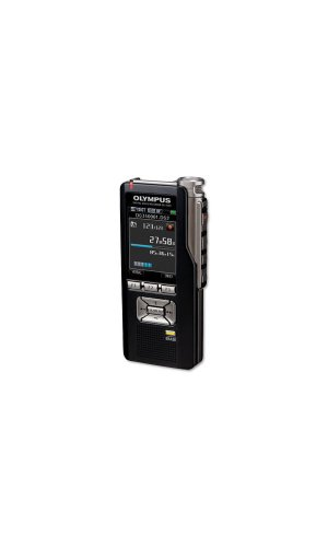 OLYMPUS DS-3500 prof.Diktiergeraet inkl.Micro SD Karte Lithium-Ion Akku ODMS Dictation Module Lederetui fuer PCM Wave + MP3 Aufnahme