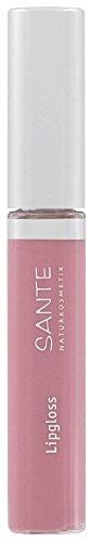 Sante Bio Lipgloss nude rose 01 (2 x 8 ml)