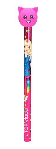 Depesche 6433 potlood met gum topper TOPmodel, gesorteerd, kleurrijk