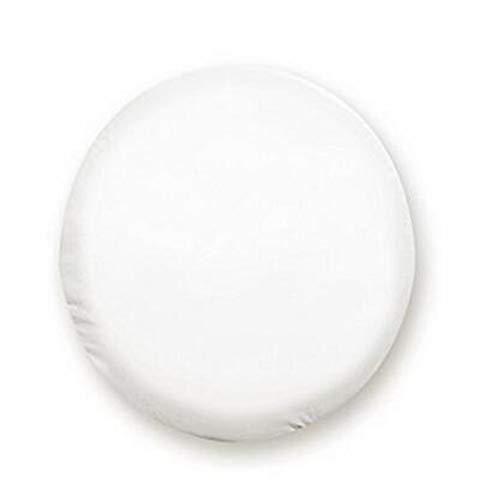Funda Rueda Repuesto 1pcs del coche blanco puro de 13 '', 14', 15', 16', 17', 18 '' pulgadas de PVC PU neumático de repuesto del neumático rueda de válvula Tapa de Ruedas Accesorios Funda Rueda 4x