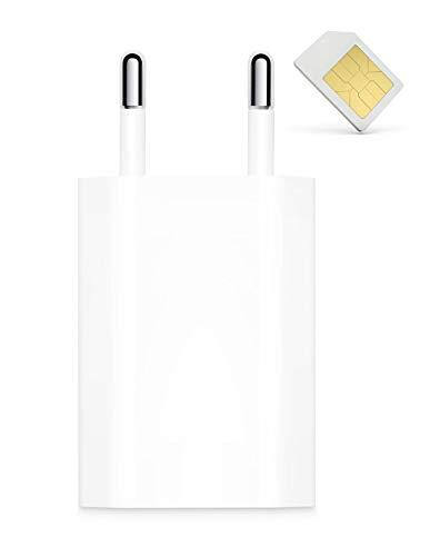 SPY TEC | Micro GSM espía integrado en cargador iPhone – Escucha a distancia – Recordatorio de detección de ruido y movimiento – Cargador universal – Fabricado en Francia