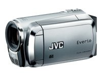 JVC GZ-MS95SEU SD Camcorder (SD/SDHC-Card, 6,9 cm (2,7 Zoll) Display, 35-fach opt. Zoom) silber