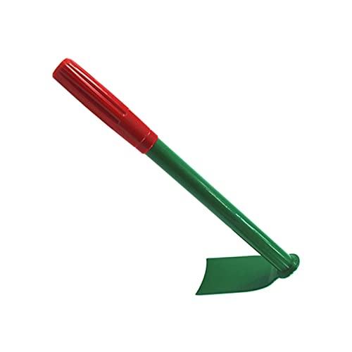 OCGDZ Casa Portatile diserbante rastrello piantatura utensile a Mano Verdure zappatura Giardino Zappa Manganese Acciaio Piccolo Yard all' Aperto pianta Lama Lunga