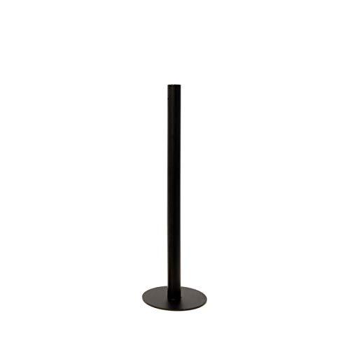 Storefactory - Ekeberga - Kerzenständer, Kerzenleuchter - Metall - Schwarz - Maße (ØxH): 12 x 40 cm