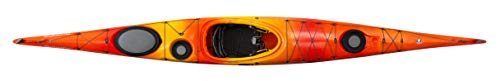 Wilderness Systems Tempest 170 | Sit Inside Touring Kayak | Adjustable Skeg - Phase 3 Air Pro Seating | 17' | Mango