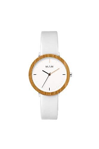 Reloj MAM Ferra 677, Unisex, Madera de bambú, Colores