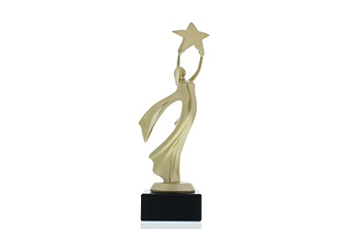 Siegerfigur Stern Victoria 21,5cm hoch, mit Ihrem persönlichen Wunschtext graviert