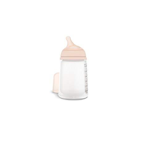 Biberon suavinex anticolico zero zero 270 ml flujo medio para papillas