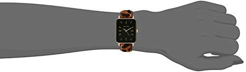 Anne Klein – Reloj de pulsera con correa de leopardo (talla única),
