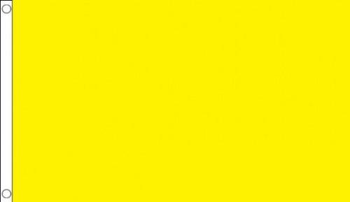 AZ FLAG Flagge GELBER Schiedsrichter 90x60cm - Motorsport RENNLEITUNG GELB Fahne 60 x 90 cm - flaggen Top Qualität