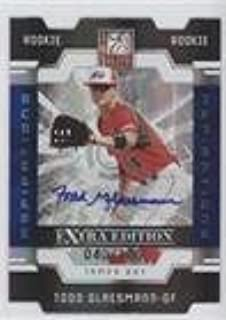Todd Glaesmann #40/100 (Baseball Card) 2009 Donruss Elite Extra Edition - [Base] - Aspirations Signatures [Autographed] #76