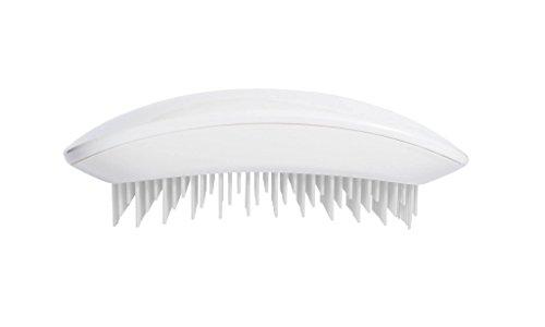 Tangle Mouse Brosse à cheveux démêlante professionnelle Blanc pur